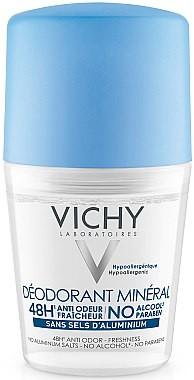 Vichy Dezodorant mineralny w kulce do bardzo wrażliwej skóry - Deodorant Mineral Roll On Dezodorant mineralny w kulce do bardzo wrażliwej skóry - Deodorant Mineral Roll On