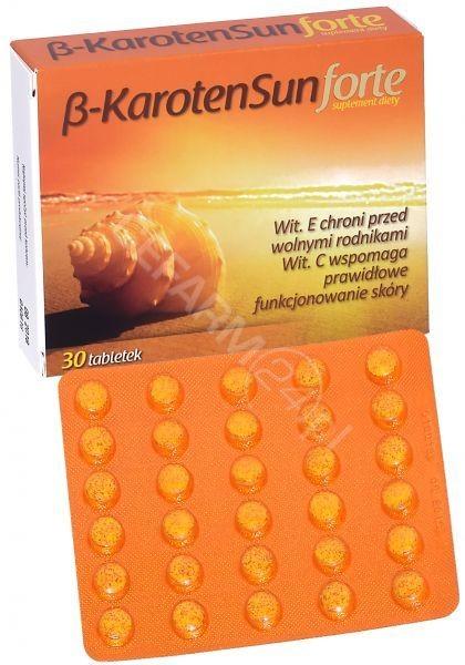 Starpharma Beta Karoten Sun Forte 30 tab