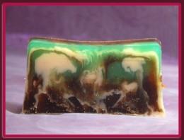 Lavea MIĘTA z CYTRYNĄ - mydło organiczne na wagę