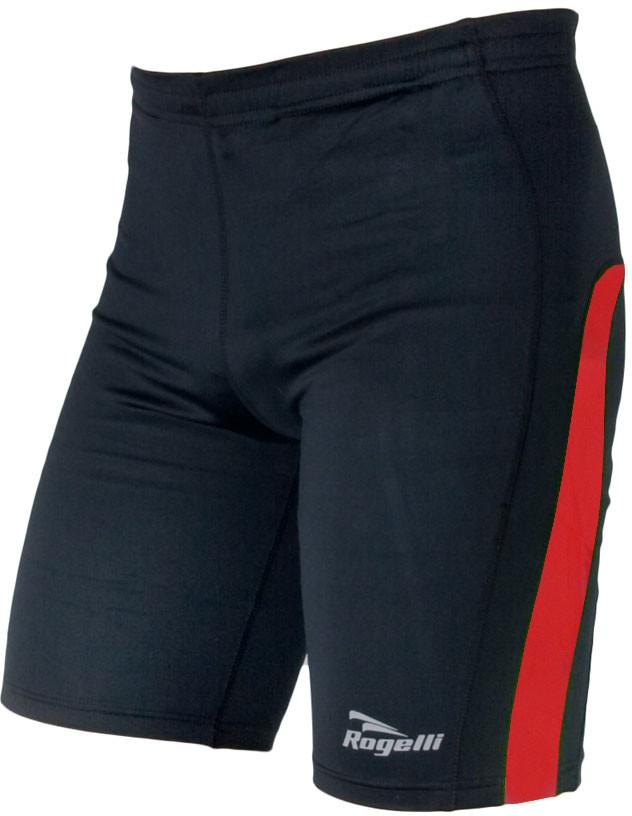 Rogelli RUN DIXON męskie spodenki sportowe czarno-czerwone