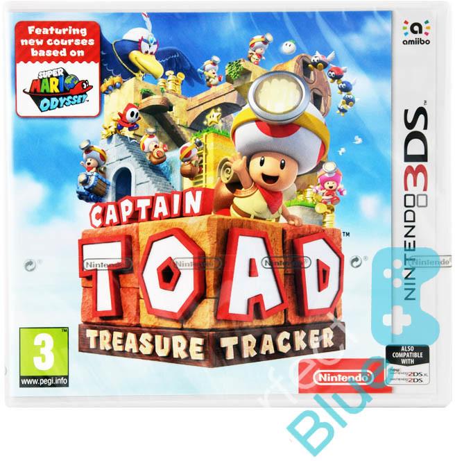 Captain Toad Treasure Tracker 3DS