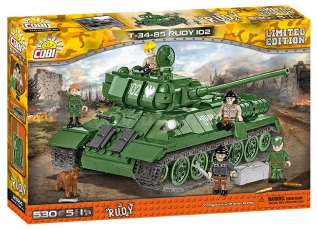 Cobi Small Armiy T-34-85 Rudy 2524