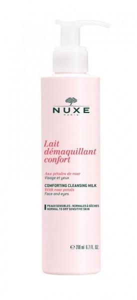 Nuxe Rose Petals Cleanser mleczko do demakijażu 200 ml dla kobiet