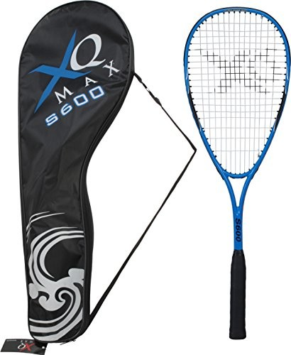 XQmax xqmax rakieta do squasha S600dla dorosłych, Black/Blue/White, 68cm, koo580080 KOO580080