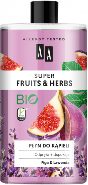 Oceanic Super Fruits&Herbs płyn do kąpieli figa/lawenda 750ml 52814-uniw