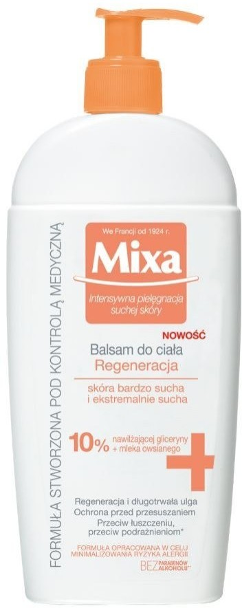 Mixa Balsam do ciała regenerujący 10% 400ml