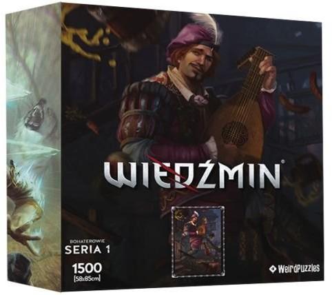CDP Sp. z o.o. Wiedźmin, puzzle Bohaterowie Jaskier