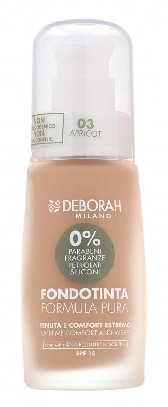 Deborah MILANO MILANO - FORMULA PURA - Podkład do twarzy - 01 - FAIR DEBPPDTW-DOTW-02