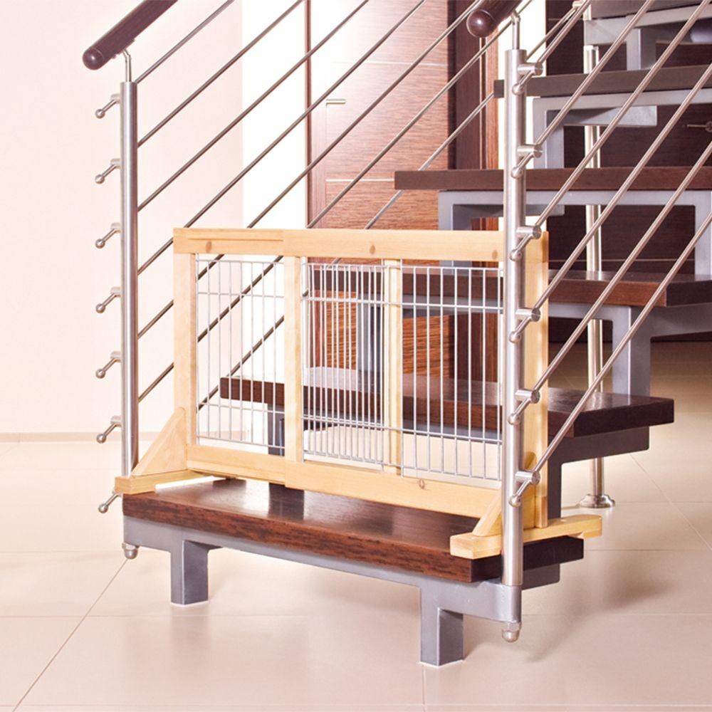 Trixie bramka ograniczająca dla psa Wys x szer. 50 x 63-108 cm