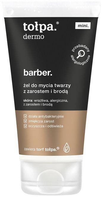 Tołpa żel do mycia twarzy z zarostem i brodą, 75 ml TME026