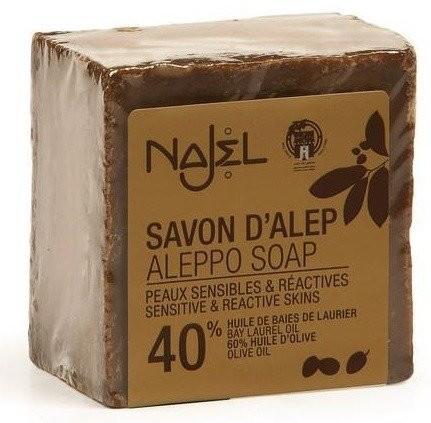 NAJEL Mydło Aleppo 40 % z olejem laurowym 185 g 1234591352