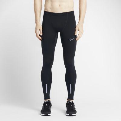 Nike Męskie legginsy do biegania Power Tech - Czerń 642827-010