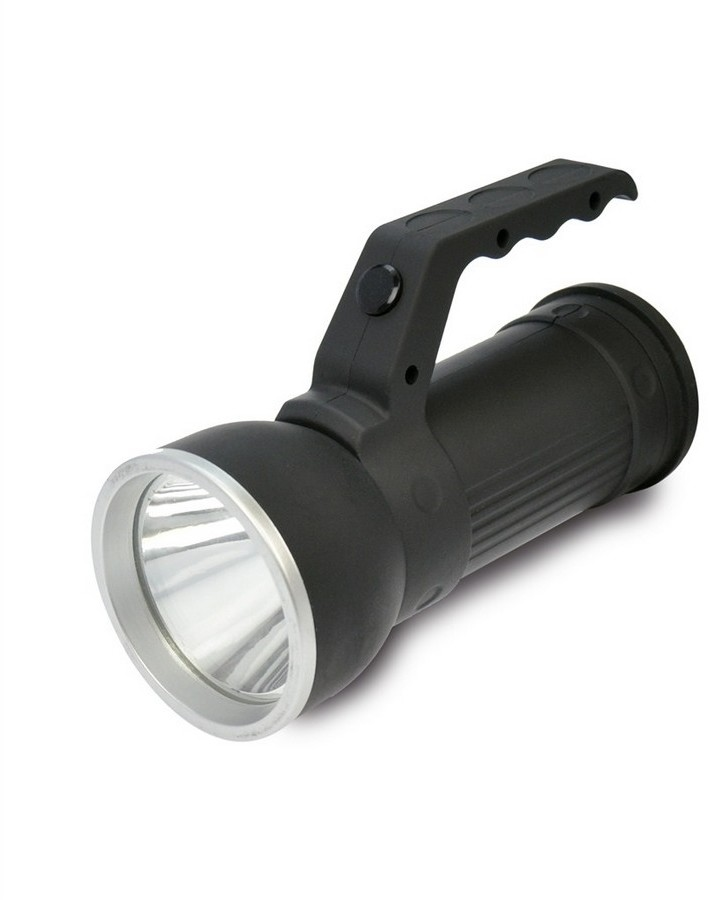 Solight LED Latarka LED/3W + 6xLED/3xAA IP44