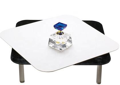 joyart Podstawka akrylowa JOYART 30x30cm czarno-biała z nóżkami do fotografii produktowej