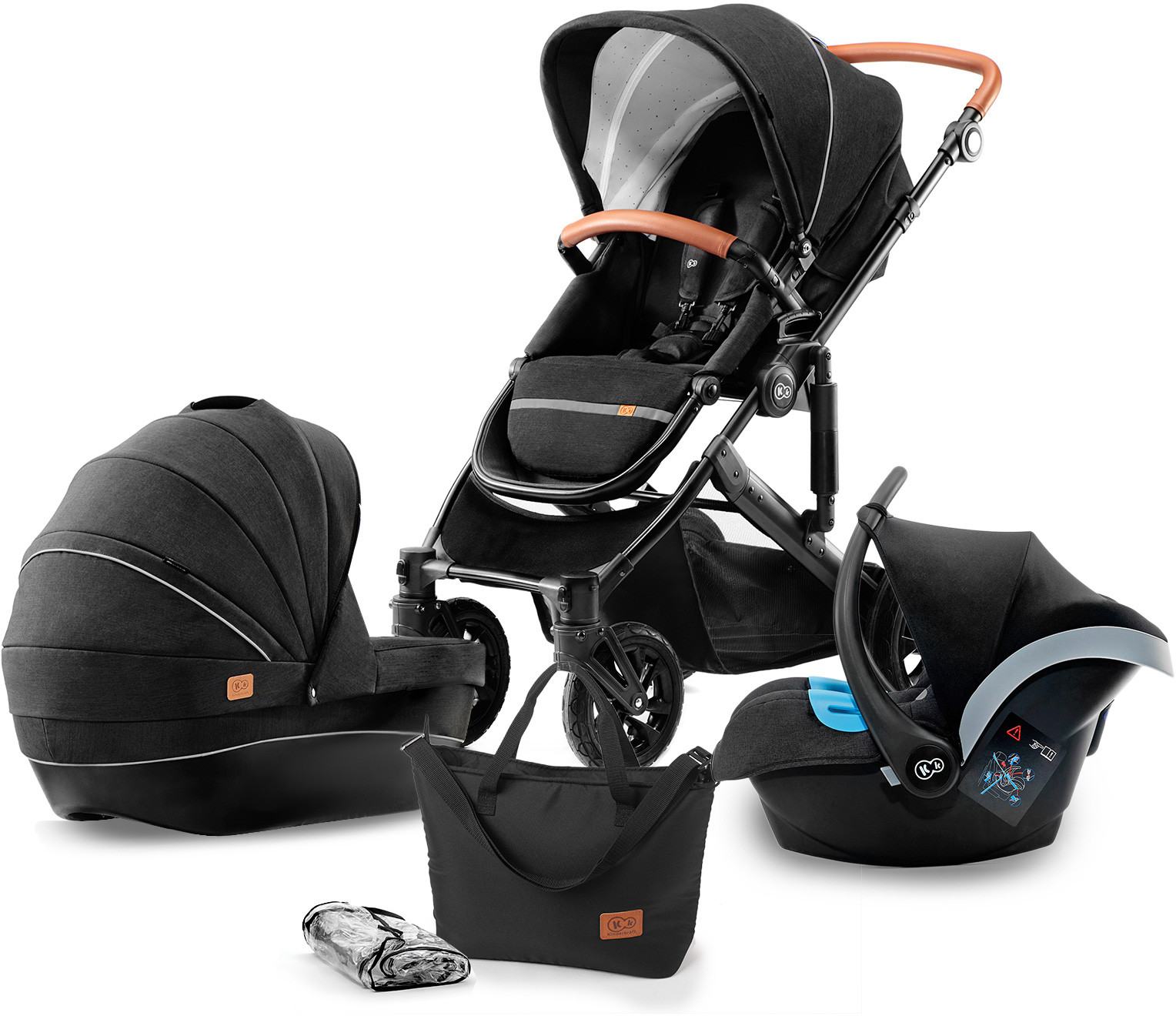 KinderKraft PRIME 3w1 Black