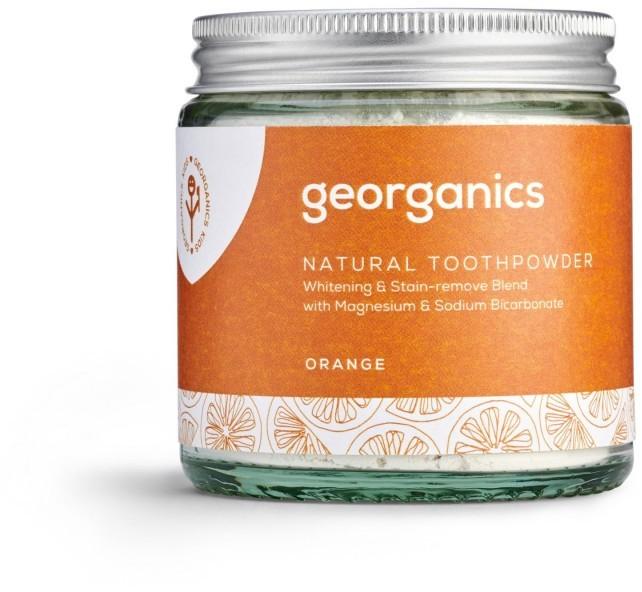 Georganics Georganics, Proszek do czyszczenia zębów, Orange, 120 ml 5060480200852