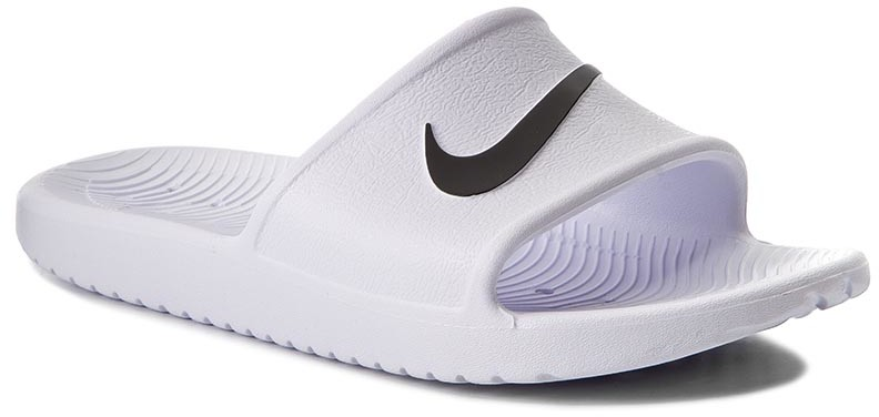 check out 133e6 6473b Nike Klapki Kawa Shower 832655 100 WhiteBlack