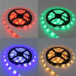 Ecolight Taśma LED RGBWW 300SMD5050 IP65 - RGB + biała ciepła wodoodporna - 5m. EC79654