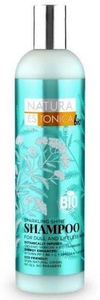 Eurobio Lab Natura Estonica bio Sparkling Shine Szampon do włosów pozbawionych blasku 400ml 1234585508