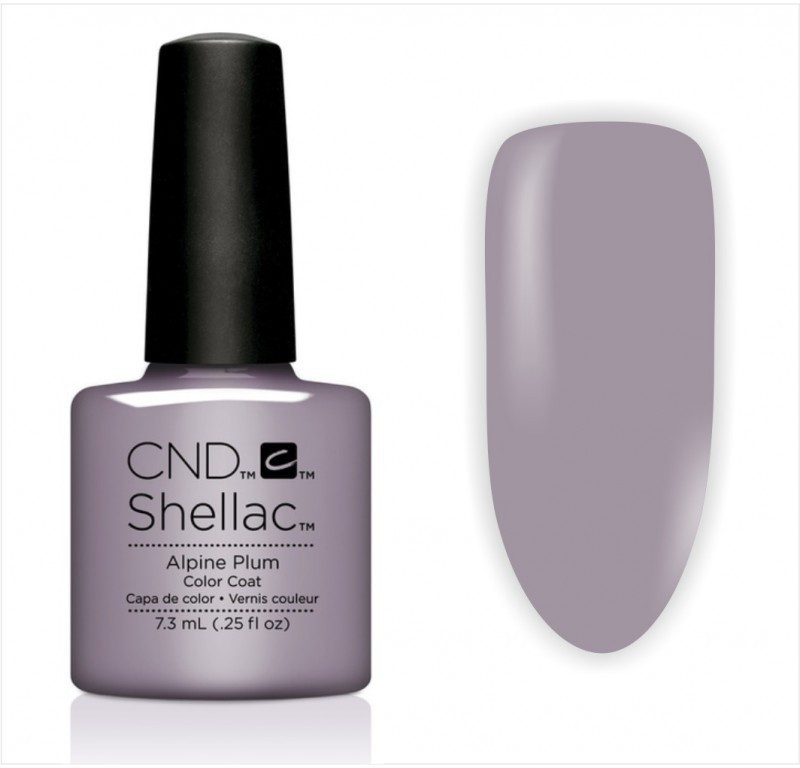 CND CND Shellac Alpine Plum 7,3 Ml 9104