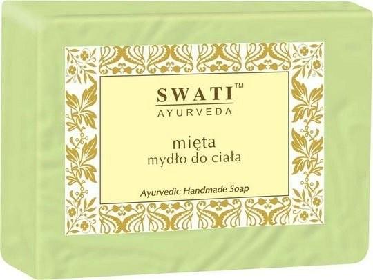 Swati Ayurweda Swati Mydło do ciała mięta 100g SI937
