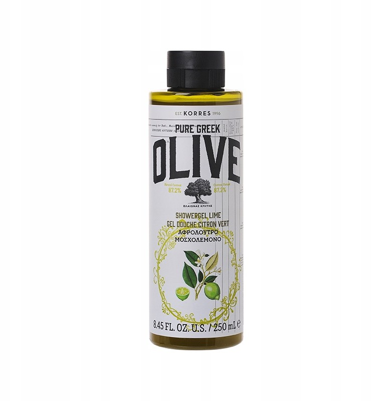 Korres Pure Greek Olive Żel Limonka Oliwka Lime