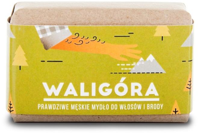 Mydlarnia CZTERY SZPAKI Mydło WALIGÓRA dla mężczyzn 4SZ 19
