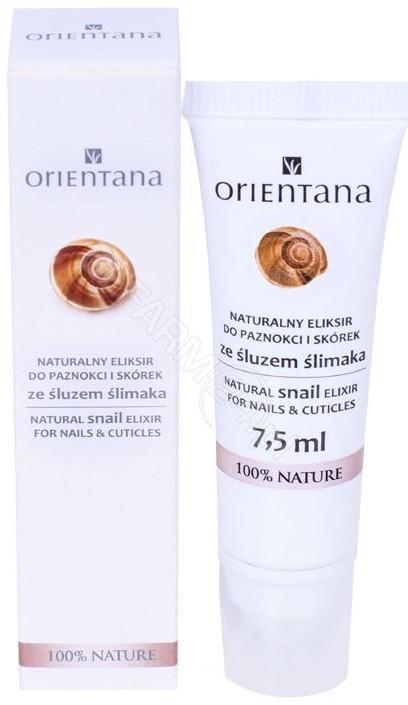 Eliksir ORIENTANA Orientana naturalny do paznokci i skórek ze śluzem ślimaka 7,5 ml