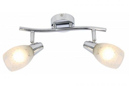 Reality reflektorki do pokoju Crissy 815802-06 podwójna lampa regulowane klosze chromowana nad lustro 815802-06