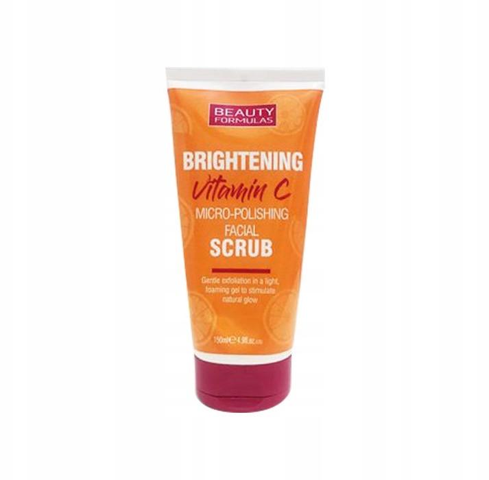 Beauty Formulas Rozświetlający Peeling Do Twarzy