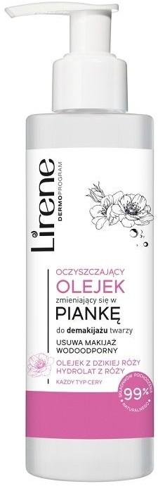 Lirene Lirene Pielęgnacja Oczyszczająca - Kojący olejek zmieniający się w piankę Dzika Róża 150ml