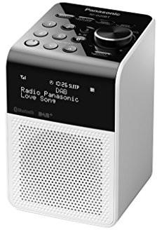 Panasonic RF-d20bteg-K cyfrowego radia DAB + biały RF-D20BTEG-W