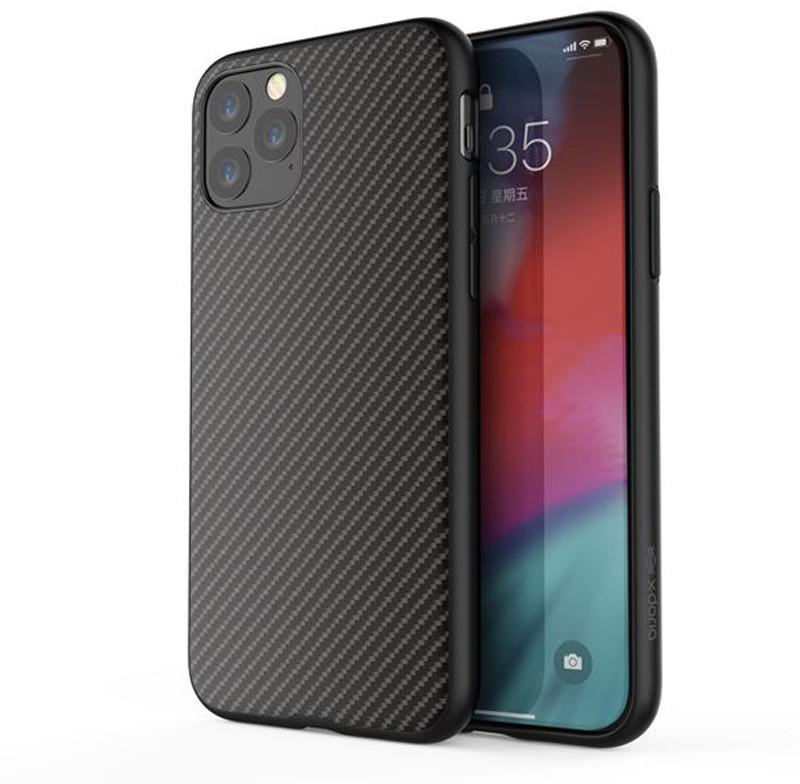 X-Doria X-Doria Dash Air Etui iPhone 11 Pro Max Black Carbon Fiber 486798