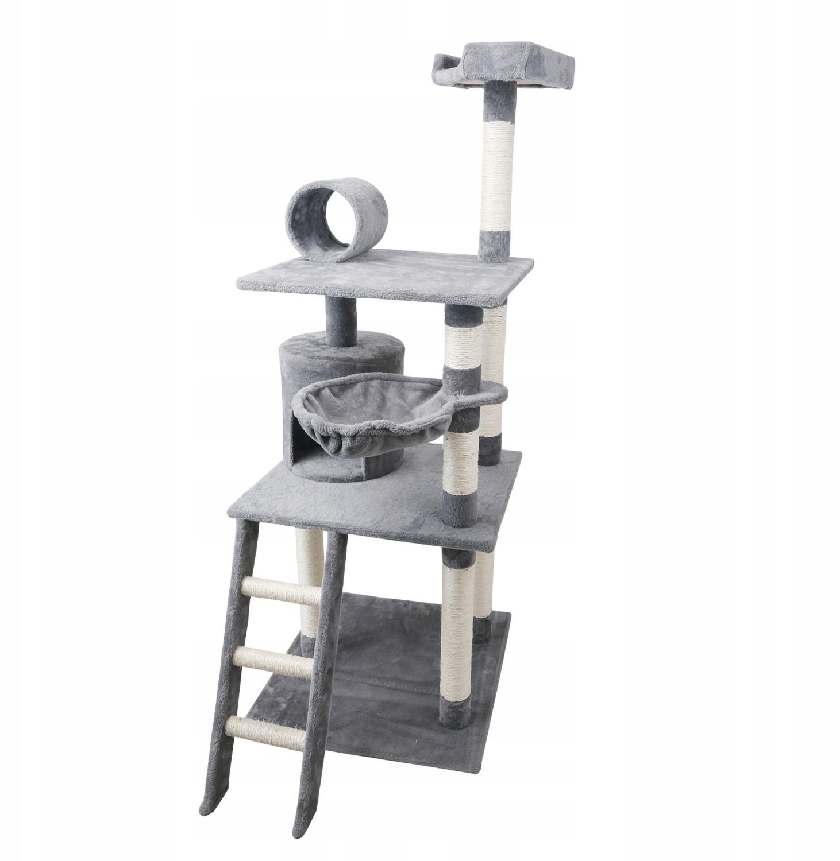 Drapak Dla Kota Wieża Legowisko Domek 5 Poziomów