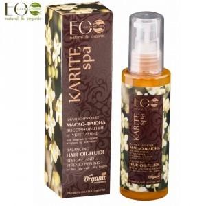 Ecolab Karite SPA - olej fluid do włosów - 3738-0