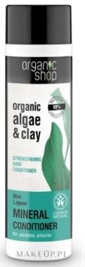 Organic Shop Wzmacniający balsam do włosów Błękitna laguna - Organic Algae and Clay Mineral Conditioner Wzmacniający balsam do włosów Błękitna laguna - Organic Algae and Clay Mineral Conditioner