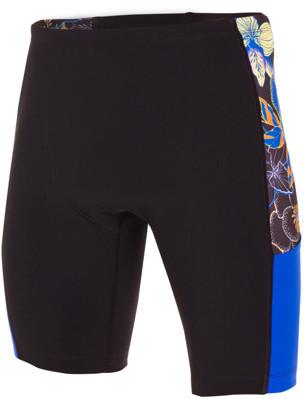 ZEROD spodenki triathlonowe RACER SHORTS KONA czarno-niebieskie