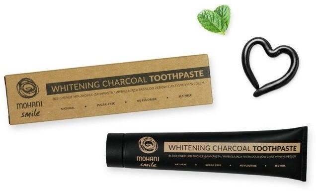 MOHANI MOHANI Whitening Charcoal Toothpaste 75ml 83065-uniw