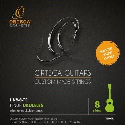 Ortega Ortega UNY-8-TE struny do ukulele 8-mio strunowego