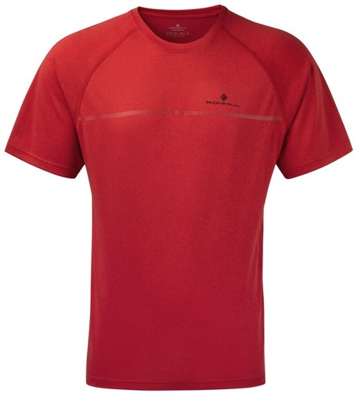 RONHILL RONHILL koszulka EVERYDAY S/S TEE czerwona