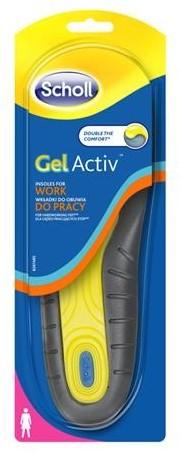 Scholl GelActiv wkładki do obuwia do pracy (damskie) 49791-uniw