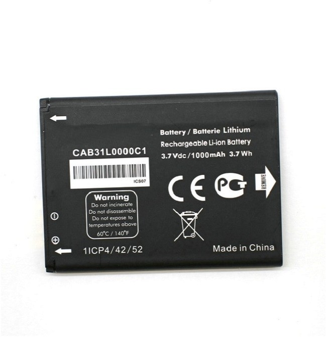 Alcatel CAB31L0000C1 CAB31L0000C2 bateria do telefonu i808 obsługi TCL T66 A890 One Touch
