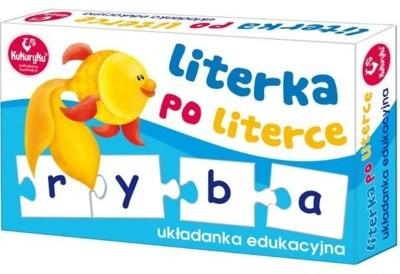 Kukuryku Układanka Literka po Literce G-0390