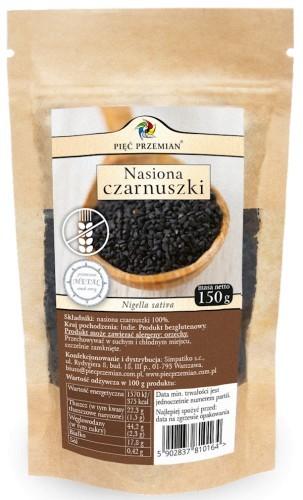 Pięć Przemian Nasiona Czarnuszki 150g -