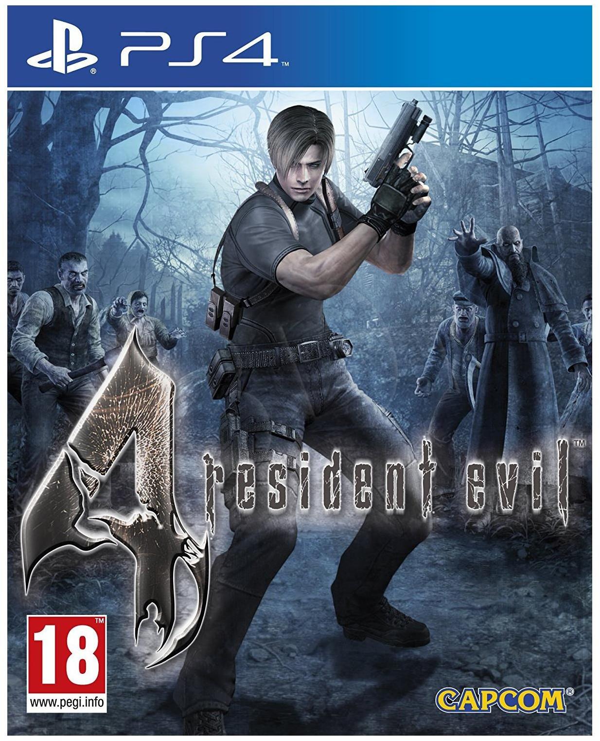 Resident Evil 4 HD (GRA PS4)
