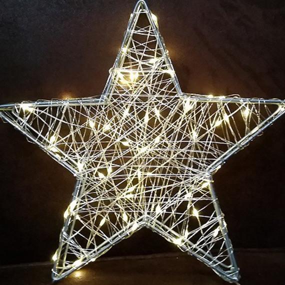 Bulinex : Dekoracja świetlna Gwiazda 3D 28 cm 100431