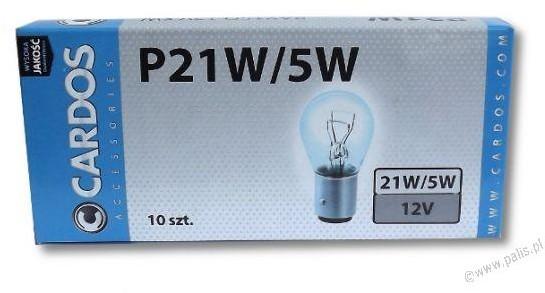 K2 Żarówka P21/5W 12V Cardos AOP215 AOP215
