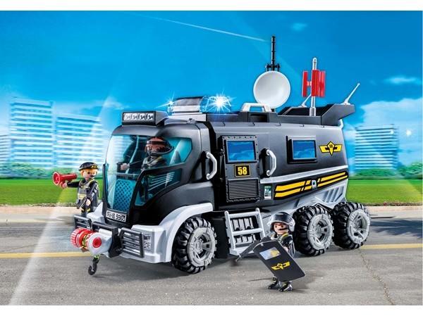 Playmobil Miasto Akcji - SWAT Truck 9360