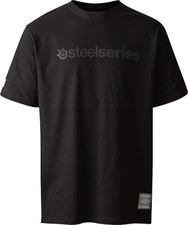 SteelSeries Koszulka SteelSeries męska czarna rozmiar M