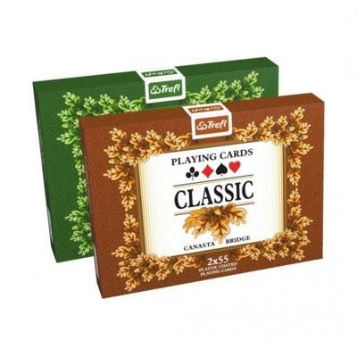 Trefl Classic w puszce 2x55 kart K15101